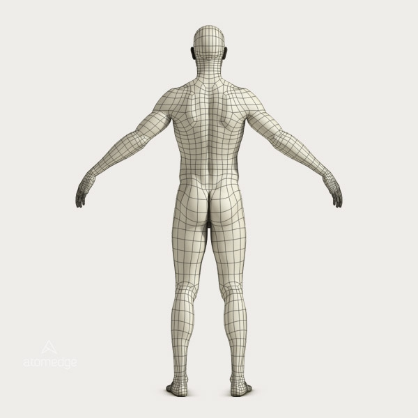 Stylized Human Male Body Basic Designed For Rendering 1.0 | Atomedge ...